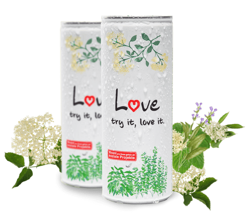 LOVE Wellnessdrink - The healthy drinker