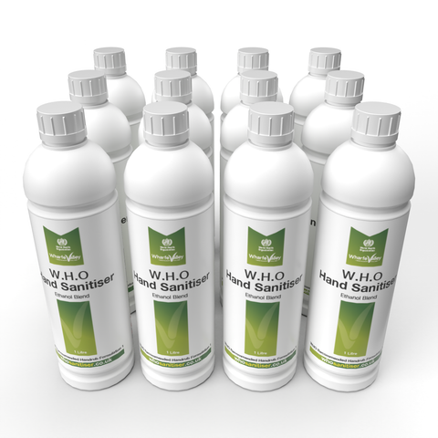 Hand Sanitiser 12 x 1L - WHO Approved