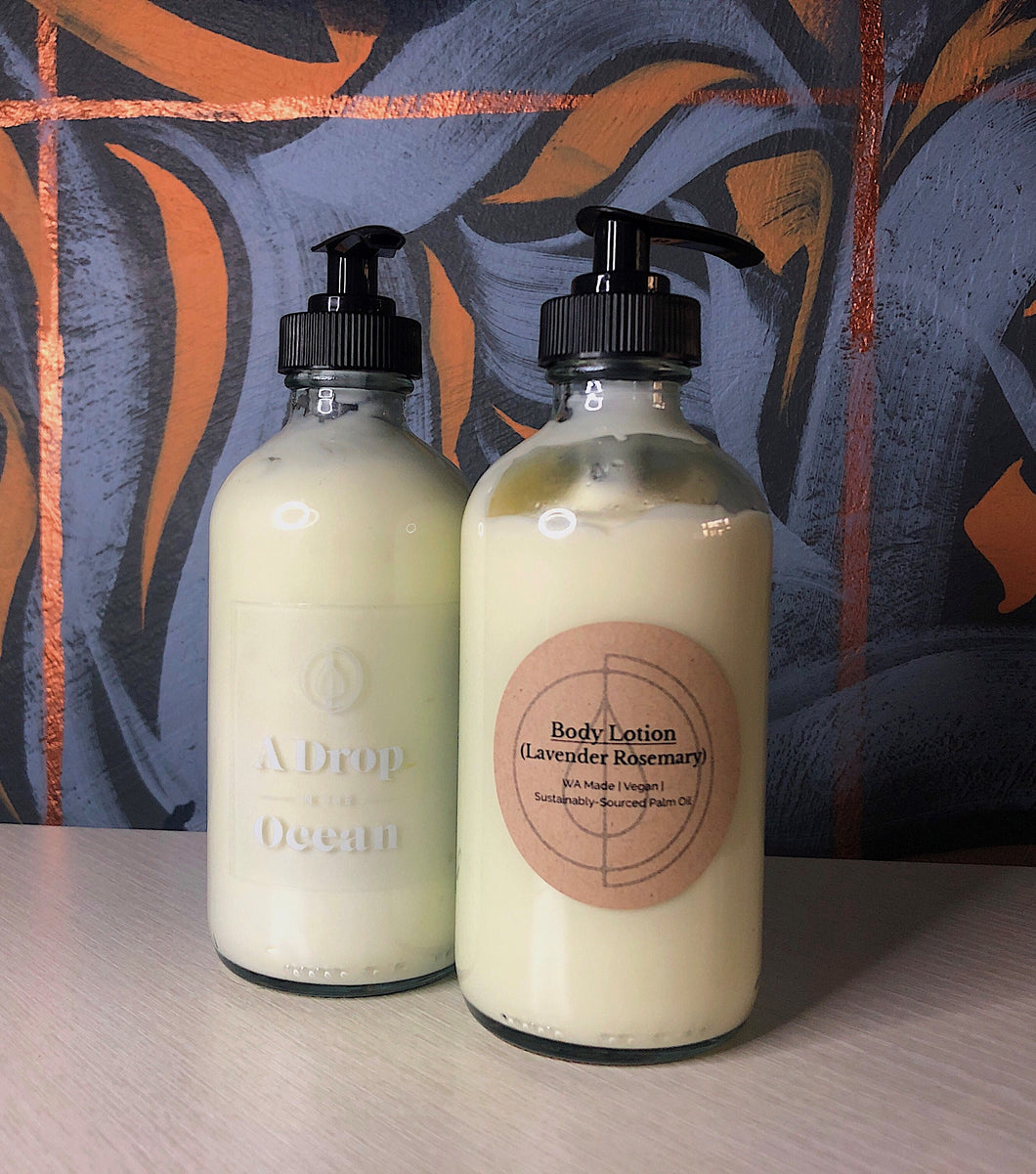 Body Lotion (Lavender Rosemary)