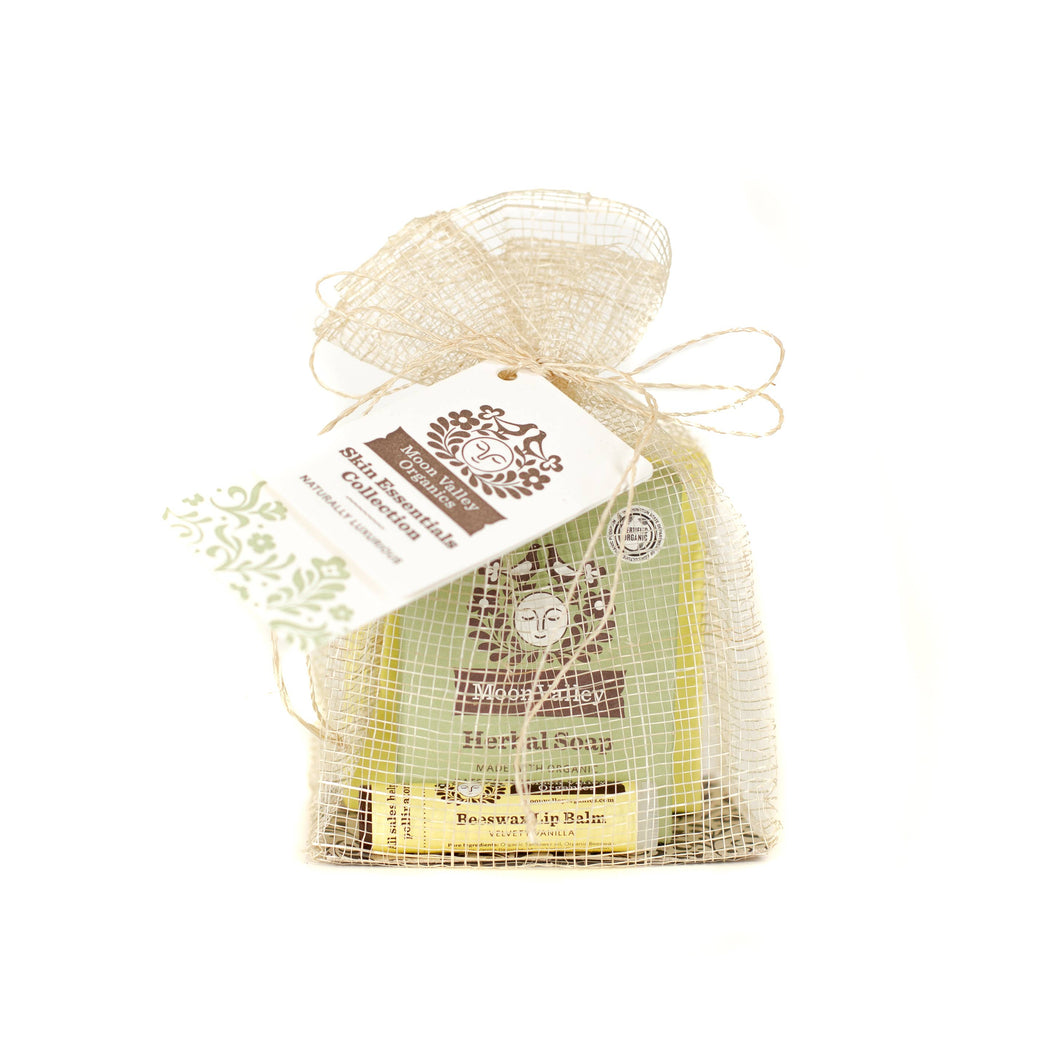Moon Valley Organics - Sage Skin Essential Collection Gift Set