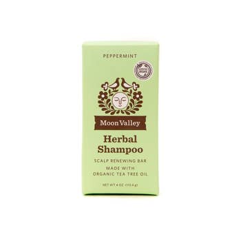 Moon Valley Organics - Peppermint Tea Tree Shampoo Bar
