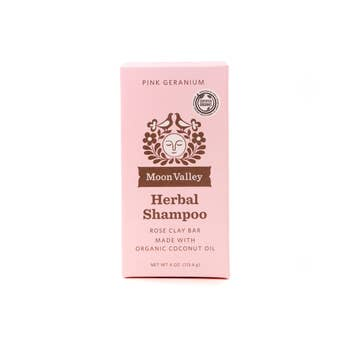 Moon Valley Organics - Pink Geranium Shampoo Bar