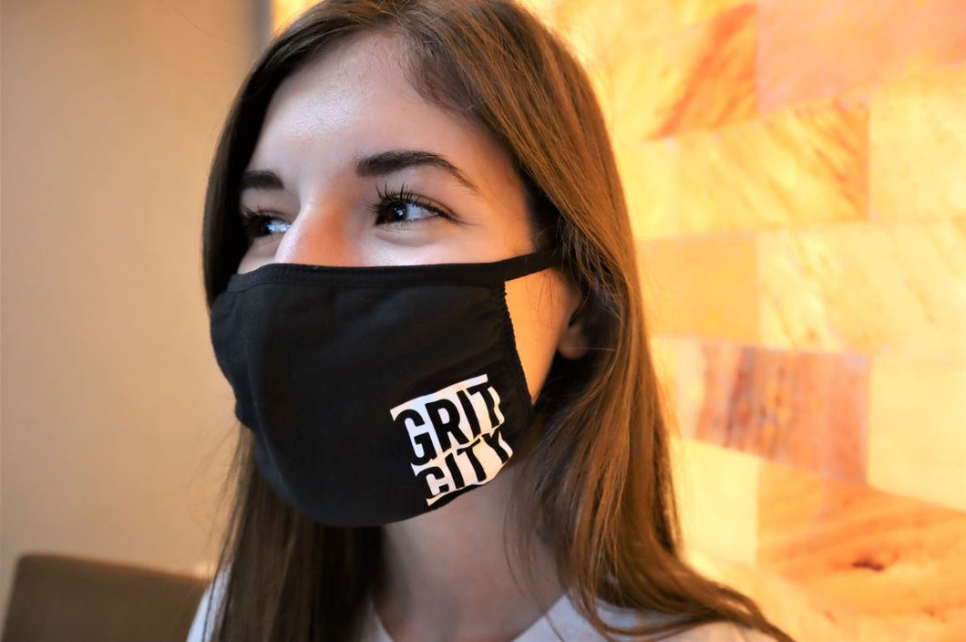 Grit City 100% Cotton Face Mask