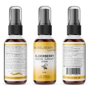 Elderberry Herbal Honey Spray