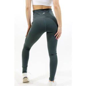 Seajoy Athletic High Waisted Leggings - Olive