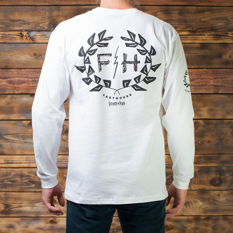 Victory Wreath Long Sleeve Tee