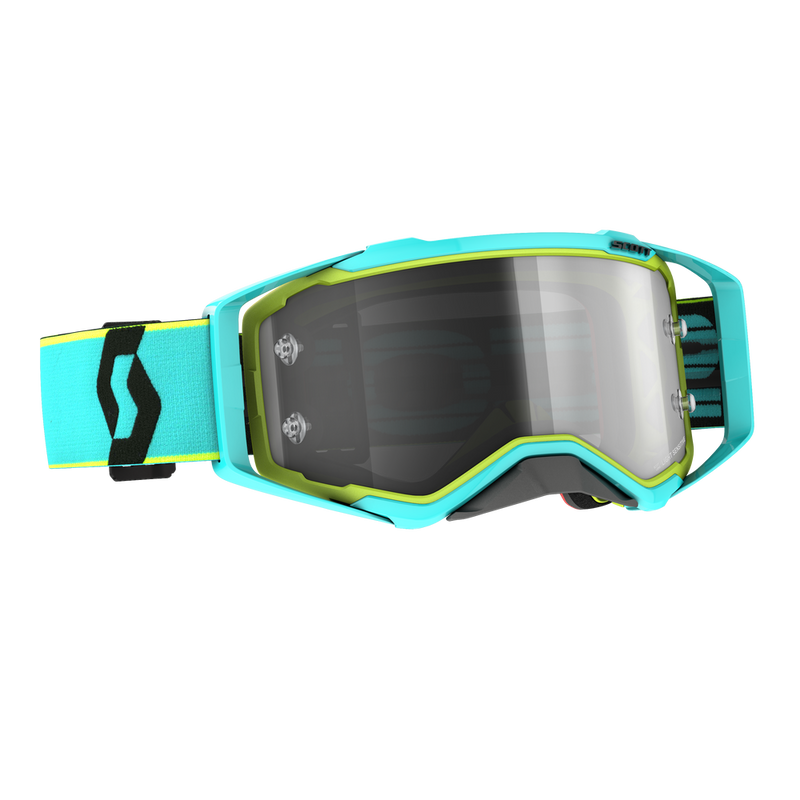 Prospect Teal Blue/Yellow Goggle