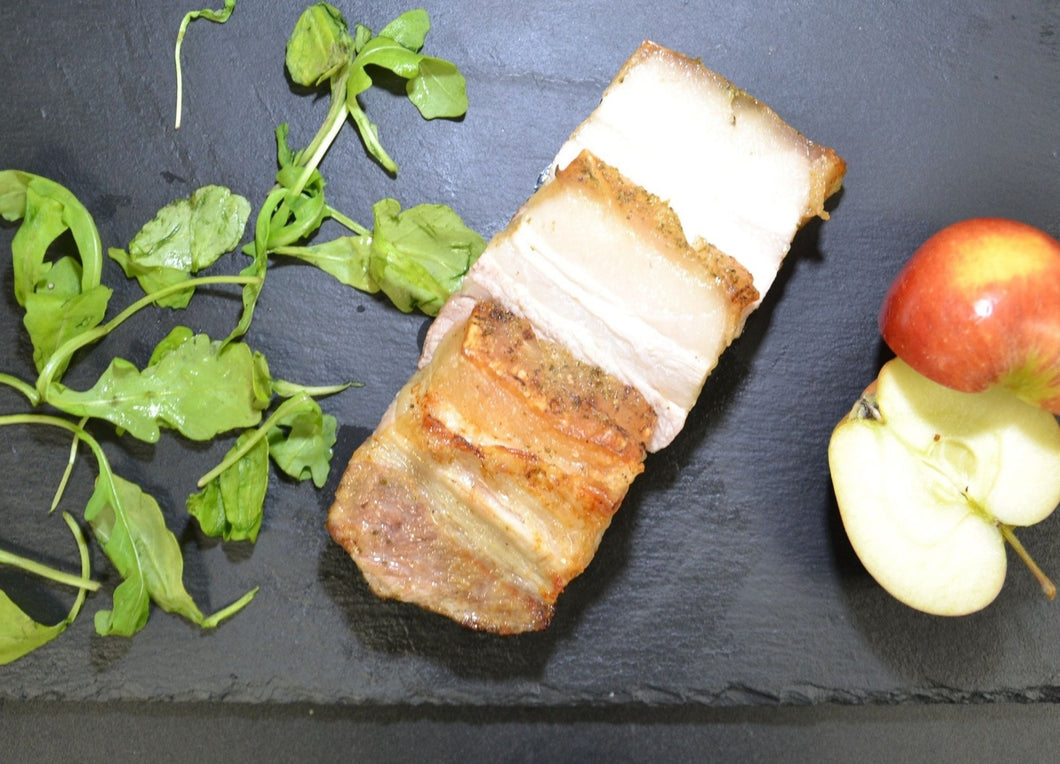 Square Cut Scored Belly Pork (225g)