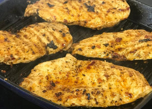Piri Piri Chicken Escalopes (4x100g)
