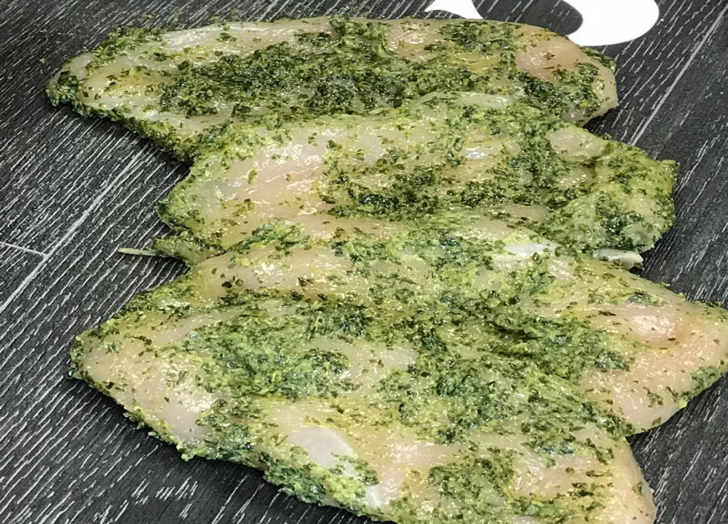 Wild Garlic Chicken Escalope (4x100g)