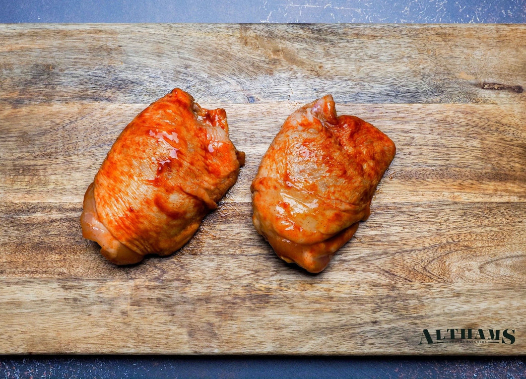 BBQ Marinated Chicken Thighs (450g)