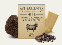 Load image into Gallery viewer, Sublime Truffle, Parmesan & Black Pepper Butter (90g)