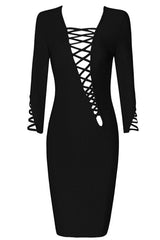 Ralph Black Bandage Dress - waist trainer, dress - waist trainer, Swancoast ann chery,