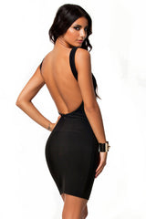 Bare Black Dress - waist trainer, dress - waist trainer, swancoast.com ann chery,