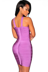 Exotic Purple Bandage Dress - waist trainer, dress - waist trainer, swancoast.com ann chery,