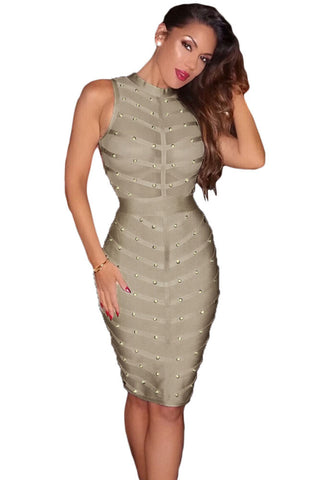 Altea Gray Bandage Dress