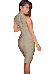 Altea Gray Bandage Dress - waist trainer, dress - waist trainer, Swancoast ann chery,
