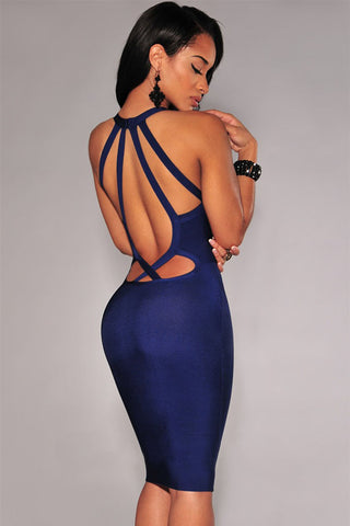 Mauve Bandage Dress