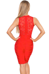 Altea Red Bandage Dress - waist trainer, dress - waist trainer, Swancoast ann chery,