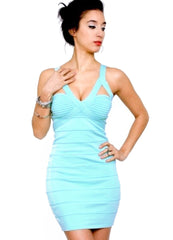 Buckle Bandage Dress - waist trainer, dress - waist trainer, swancoast.com ann chery,