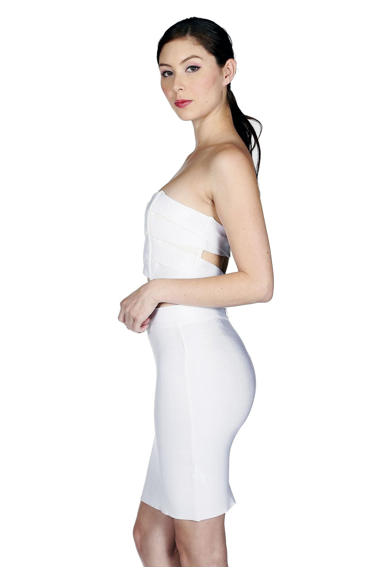 Daisy Two-Piece bandage Dress - waist trainer, dress - waist trainer, swancoast.com ann chery,