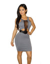 Navine Mesh Dress - waist trainer, dress - waist trainer, swancoast.com ann chery,