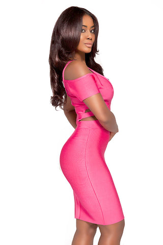 Kay Bandage Dress