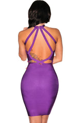 Mauve Bandage Dress - waist trainer, dress - waist trainer, swancoast.com ann chery,