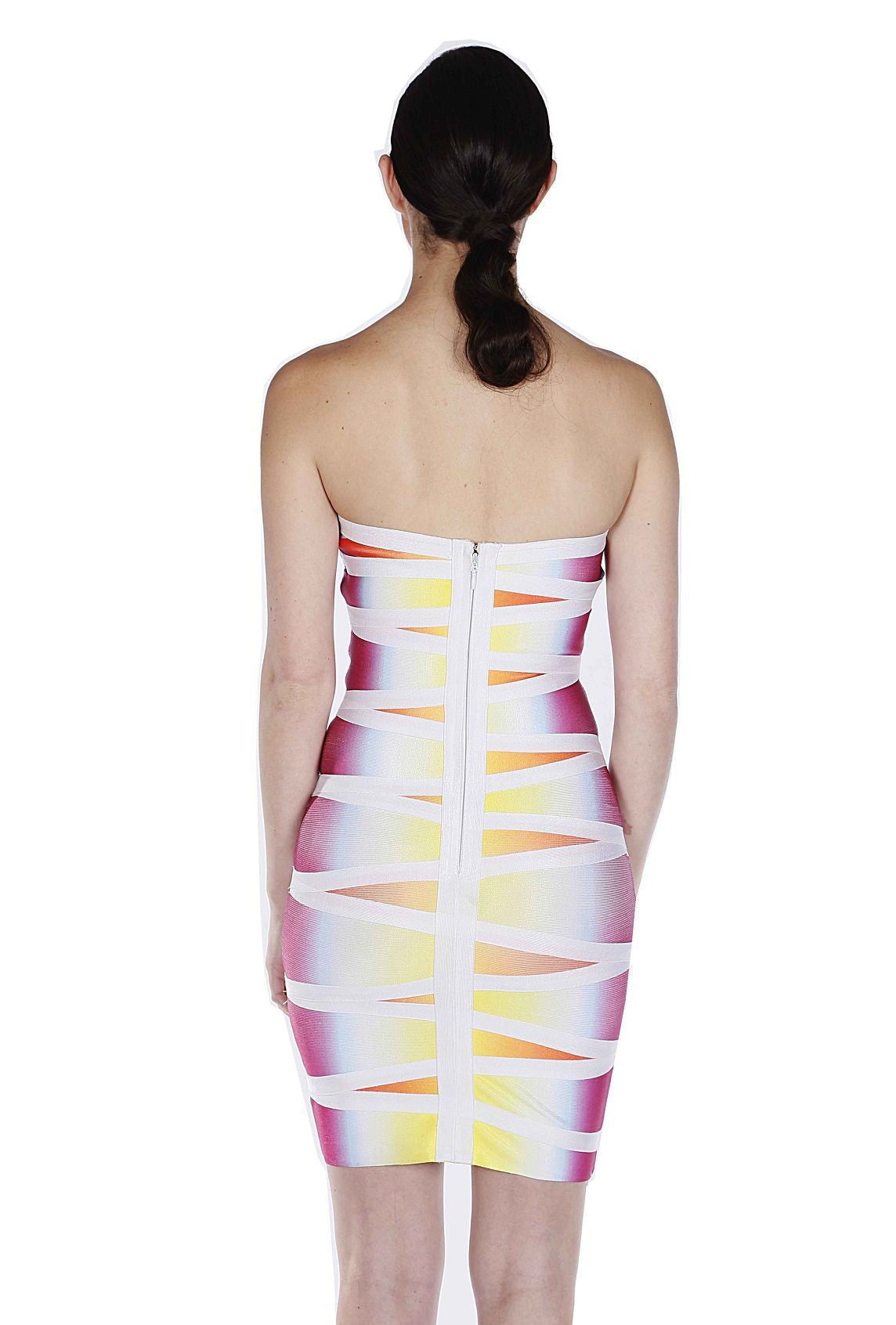 Ombre Bandage Dress - waist trainer, dress - waist trainer, swancoast.com ann chery,