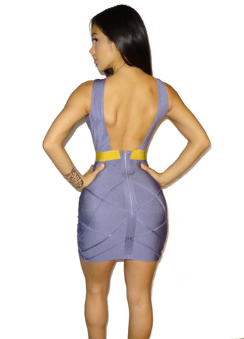 Amethyst Bandage Dress
