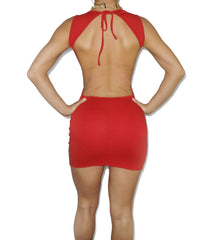 Hella Red Dress - waist trainer, dress - waist trainer, swancoast.com ann chery,