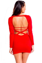 Sangre Red Dress