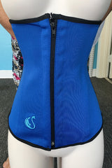 swancoast-blue-fitness-sports-zipper-invisible-waist-trainer-latex-sweat-faja