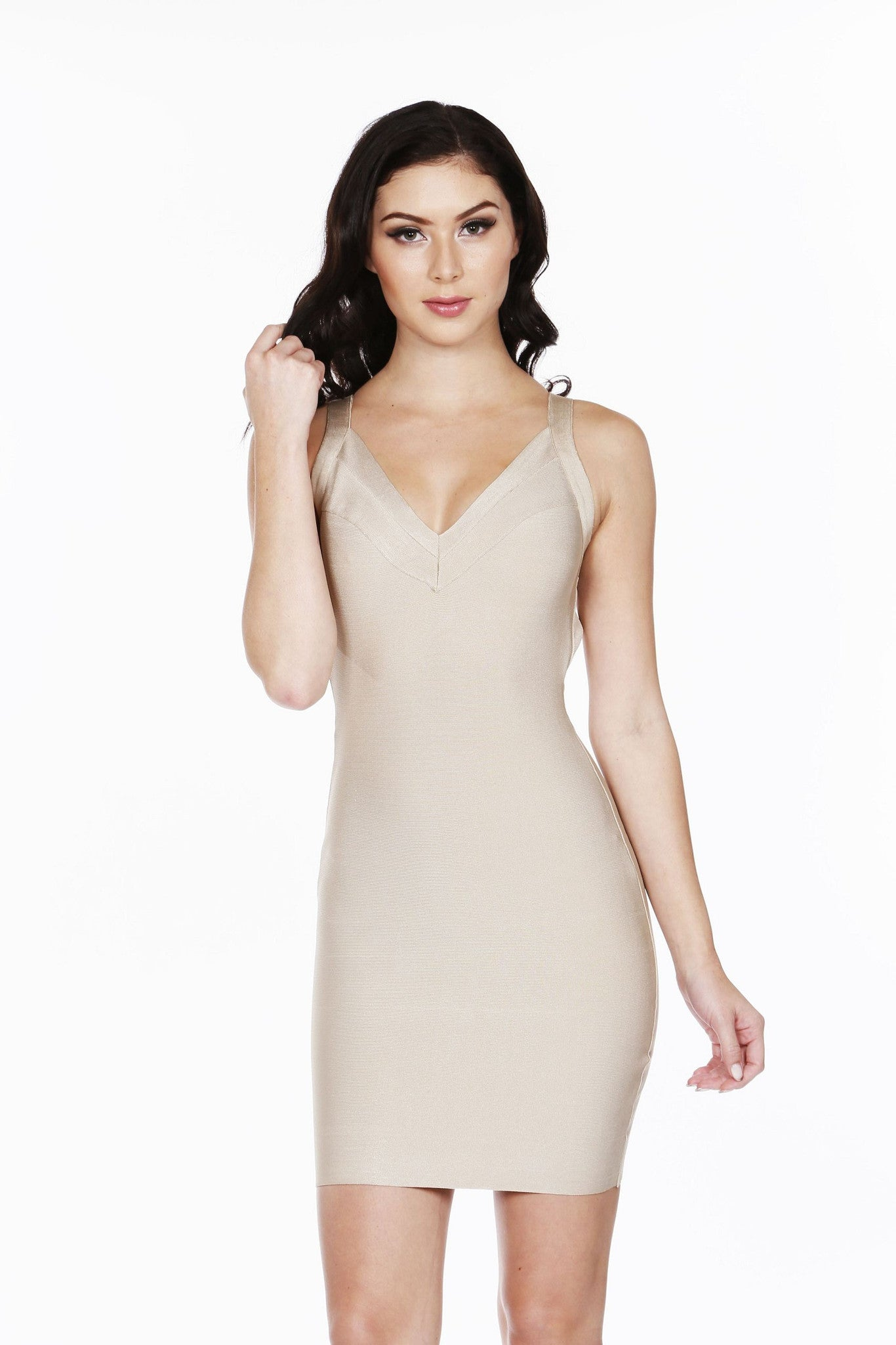 Sand Bandage Dress - waist trainer, dress - waist trainer, swancoast.com ann chery,