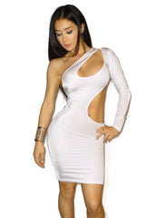 Selene White Dress - waist trainer, dress - waist trainer, swancoast.com ann chery,