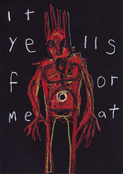 It Yells For Meat - Limited Giclée Print