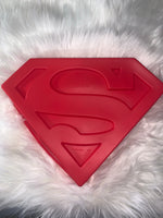 Superman logo breakable