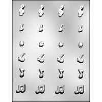 Music notes chocolate mold