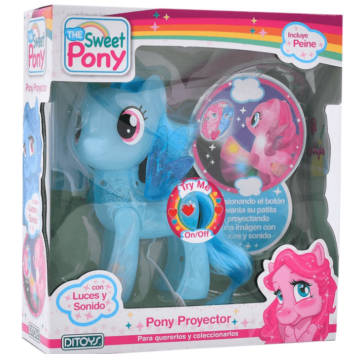 Pony Proyector Ditoys - Citykids