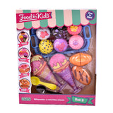 Juego Food For Kids Set De Comida 3 Original Ditoys - Citykids