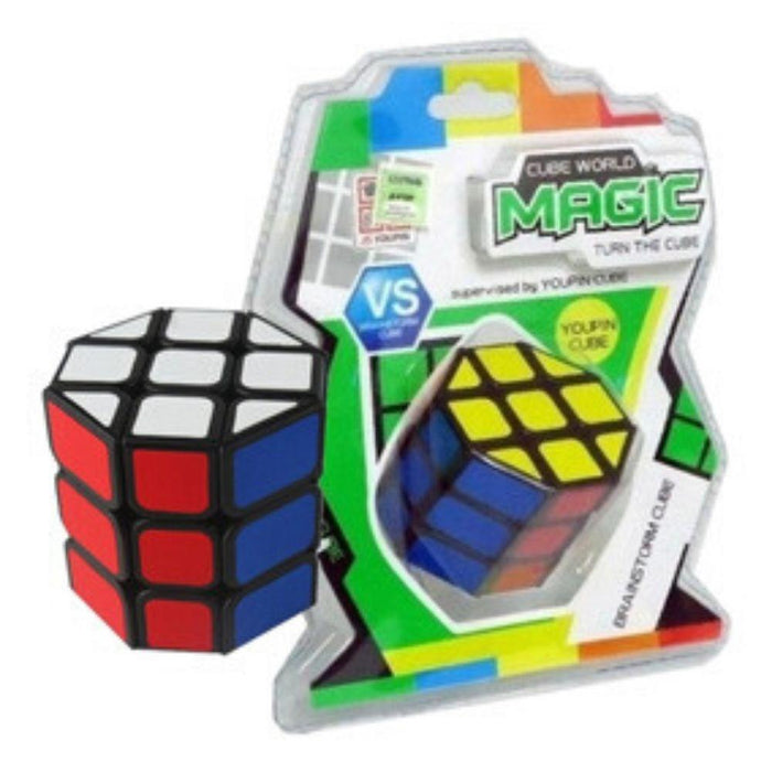 Cube World Magic Cubo Mágico Octogonal O Barrel 3x3 - Citykids