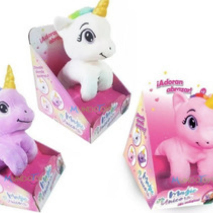 Magic Unicorn Peluche Pulsera Unicornio Coleccionables Jyj