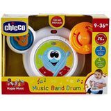 Happy Music Band Drum Bateria Con Luz Y Sonido Chicco