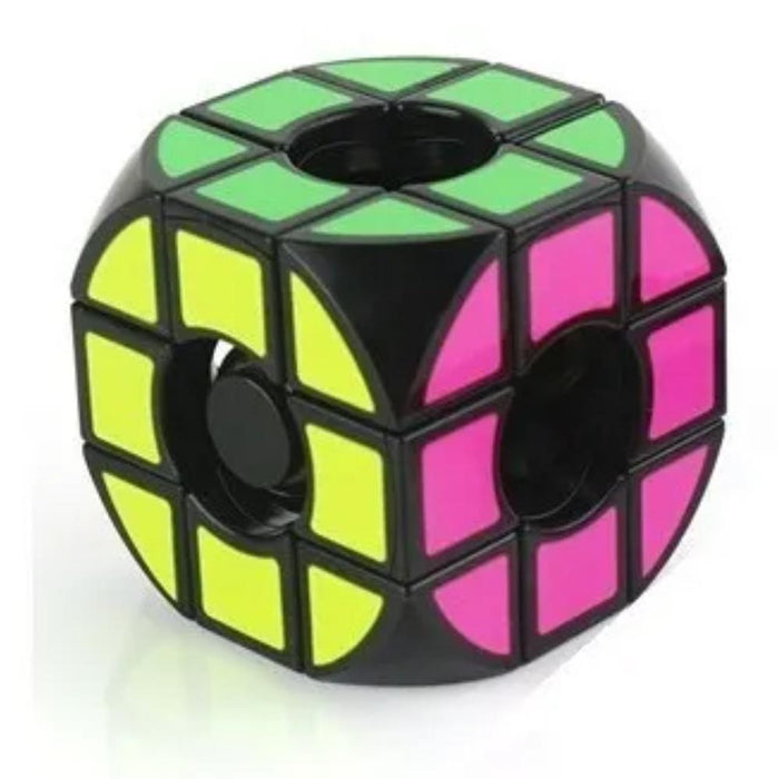 Cube World Magic Cubo Mágico Disco Rounded Void 3x3