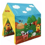 Carpa Casita Mi Granja Interior Y Exterior T-Play
