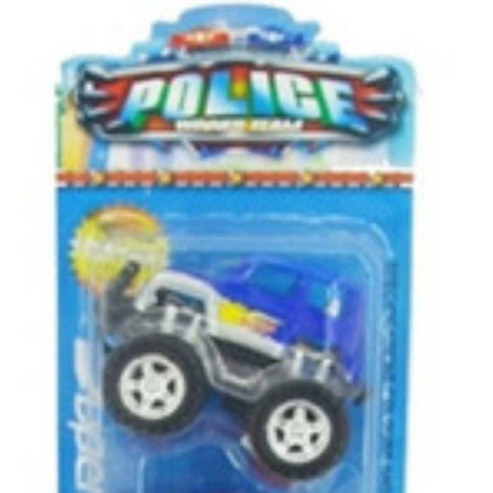 Set De 3 Autos A Fricción Police Team Ck