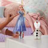Frozen 2 Talk And Glow Olaf And Elsa Hasbro - Citykids