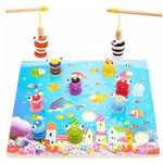 Fishing Game Pescamagic De Madera Oceano Ck - Citykids