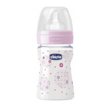 Well-Being Rosa 150ml 0m+ Flujo Bajo Chicco