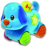 Perrito De Arrastre Press And Go Luz Y Sonido Winfun